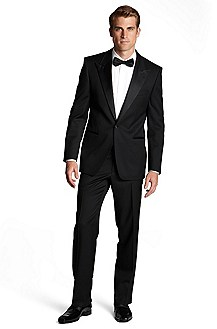 'Cary/Grant' | Classic Fit, Virgin Wool Peak Lapel Tuxedo