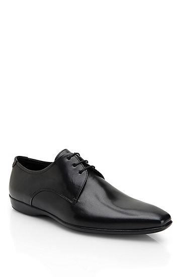 'Allyn' | Leather Lace-Up Dress Shoe, Black