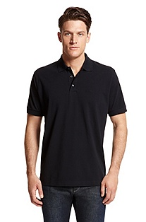 'Ferraram' | Regular Fit, Cotton Polo Shirt