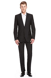 'Amaro/Heise' | Slim Fit, Stretch Wool Suit
