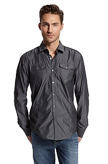 Slim Fit 'Mirko' Button Down Shirt
