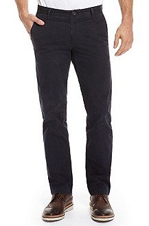 'Schino Regular' | Slim Fit, Cotton Casual Pant