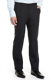 'Heise' | Slim Fit, Wool-Blend Dress Pant