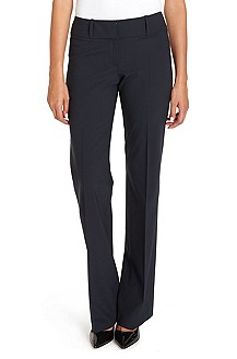 'Tuliana' | Stretch-Wool Dress Pant