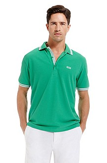 'Paddy  ' | Modern Fit, Cotton Polo Shirt