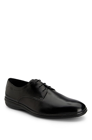 Leather 'Calgaro' Dress Shoe, Black