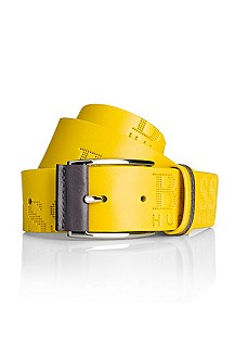 'Millow' | Perforated Leather Belt