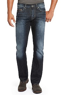 'Orange 25' |  Regular Fit, Straight Leg Jean