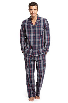 'Innovation' | Cotton Plaid Pajama Gift Set