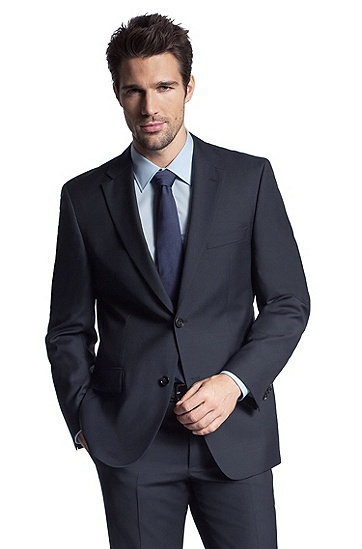Classic Fit Wool 'Pasini' Sport Coat, Navy