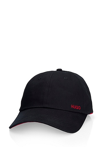 'Xabio 1' | Cotton Baseball Cap, Black