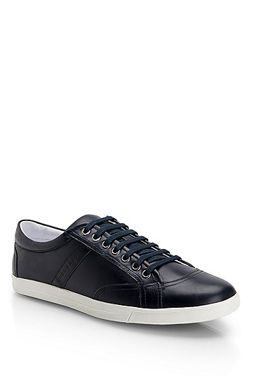 Leather 'Phoet' Sneaker, Dark Blue