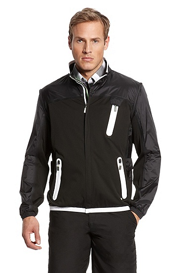Water/Wind Resistant 'Juck' Jacket, Black