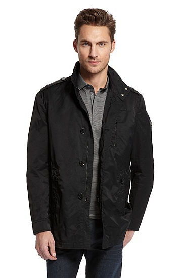 Cotton Blend 'Conat' Jacket, Black