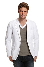 Structured Cotton 'Benne3-W' Blazer