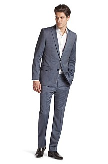 'Amaro/Heise' | Slim Fit, Virgin Wool Suit