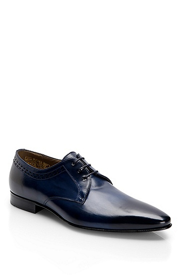 Ombré Leather Lace-Up 'Prinser' Dress Shoe, Navy