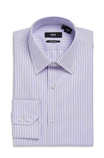 Classic Fit Modified Point Collar 'Enzo' Dress Shirt, Light/Pastel Purple
