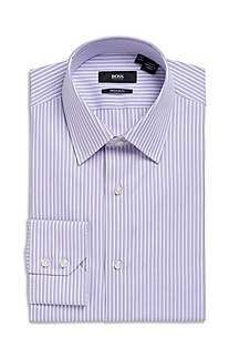 Classic Fit Modified Point Collar 'Enzo' Dress Shirt