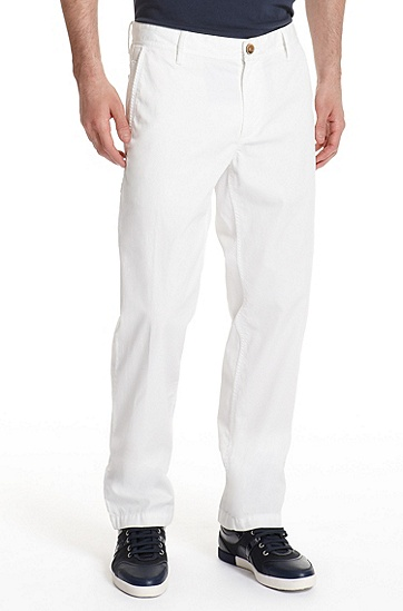 Regular Fit 'Shire6-W' Pant, White