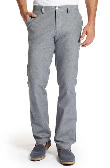 Regular Fit Chino 'Crigan' Pant, Grey