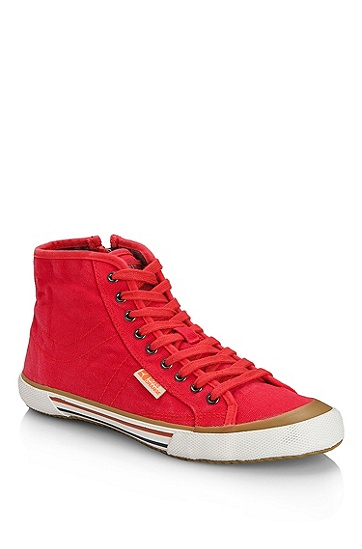 Canvas 'Santer Mid' Sneaker, Red