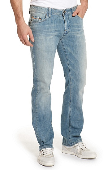 Regular Fit Boot Cut 'Orange31' Jean, Medium Blue