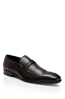 'Metero ' | Leather Slip-On Dress Shoe