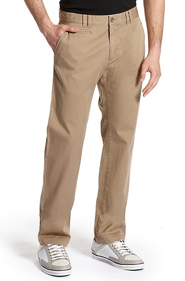 Regular Fit  'Lillon 2-W' Pant, Medium Beige