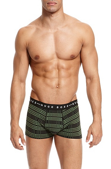 'Trunk' | Cotton Stretch Trunk, Open Green