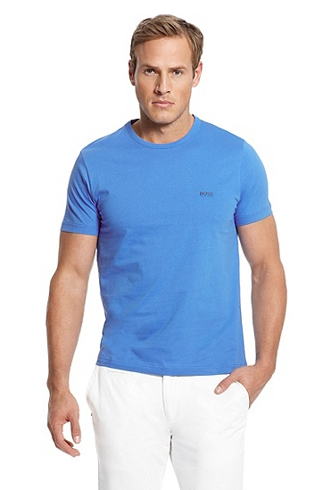 Solid 'Tee' T-Shirt, Medium Blue