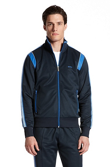 Full Zip 'Skaz 1' Track Jacket, Navy
