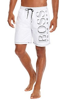 'Killfish BM' | Oversized Logo Board Shorts