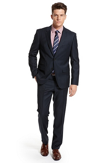 Modern Fit 'The Sweet/Sharp' Suit, Dark Blue