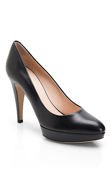 Leather 'Nuraki' Pump, Black