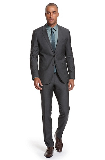 Extra Slim Fit 'Ryan/Win' Suit, Dark Grey