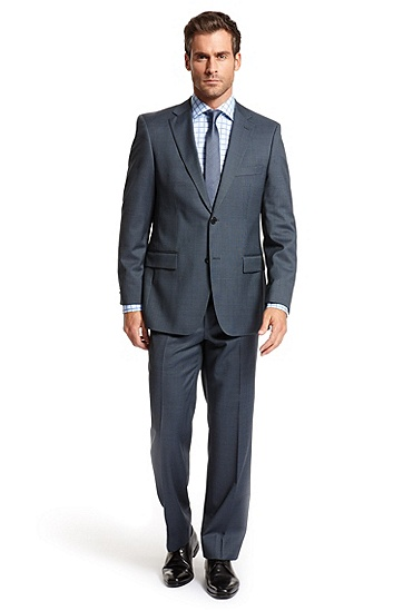 Classic Fit Two Button 'Pasini/ Movie' Suit, Navy