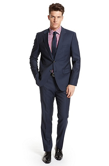 Modern Fit 'The James/Sharp' Suit, Navy