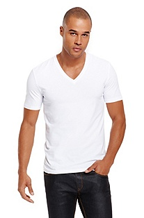 'Dredoso' |  Stretch-Cotton V-Neck T-Shirt