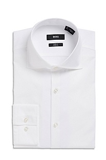 'Jaron' | Slim Fit, Spread Collar Dress Shirt