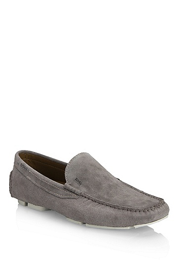 'Drefin' | Suede Loafer, Medium Grey