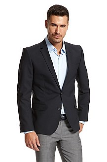 'Aikos' |  Slim Fit, Stretch Wool Sport Coat
