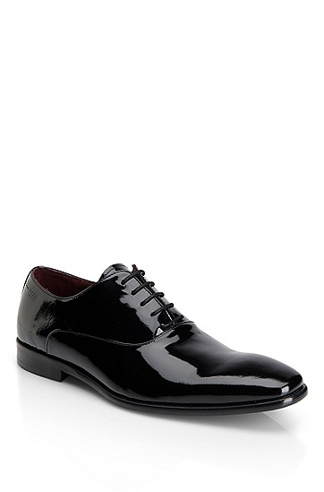 'Mellio' | Patent Leather Dress Shoe, Black