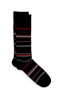 'RS Design US' | Stretch-Cotton Striped Socks