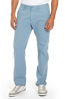 'Lillon' | Regular Fit, Stretch-Cotton Casual Pant