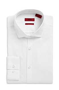 'EastonX' | Slim Fit, Modified Spread Collar Dress Shirt
