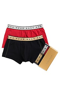 '2P BM' | Stretch Cotton Trunk, 2-Pack