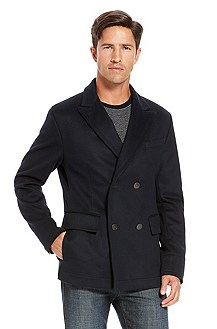 'Clynt' | Wool-Cashmere Double Breasted Coat