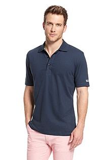 'Patrick' | Regular Fit, Cotton-Blend Polo Shirt