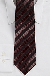 '8 cm Tie' | Regular Silk Patterned Tie